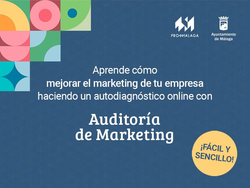 Promálaga pone a disposición de emprendedores y empresarios una herramienta online gratuita para elaborar auditorías de marketing