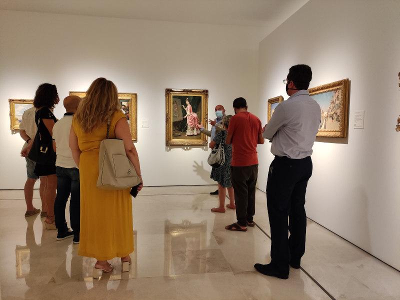 Clausura del VIII Promálaga Mentoring en el Museo Thyssen de Málaga junto a los emprendedores de la edición anterior
