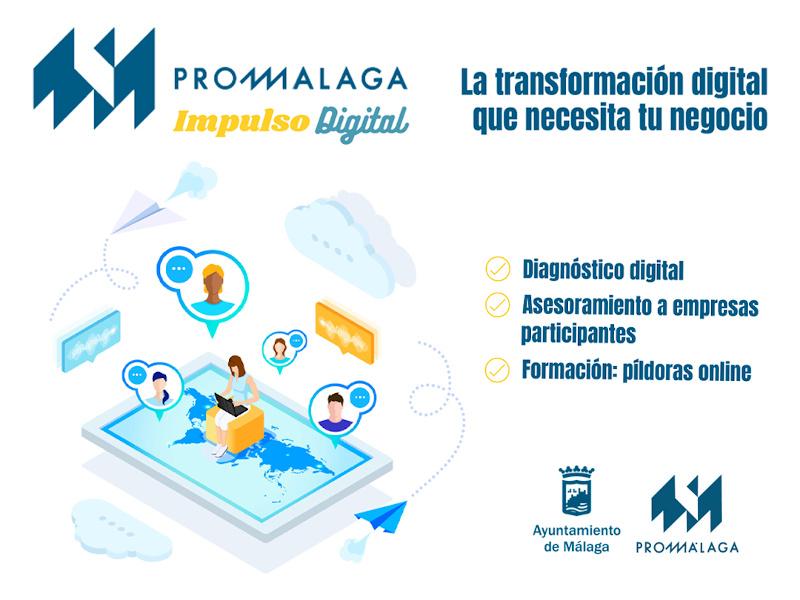 31 empresas inician y potencian su digitalización gracias al programa 'Impulso Digital' de Promálaga