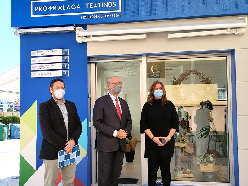 El Ayuntamiento invierte 100.000 euros en ampliar la incubadora de Promálaga Teatinos